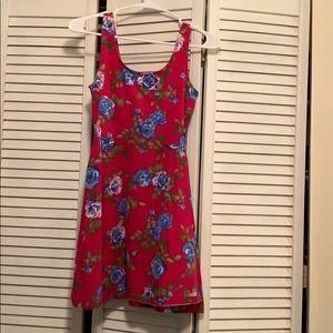 Forever 21 Floral skater girl dress